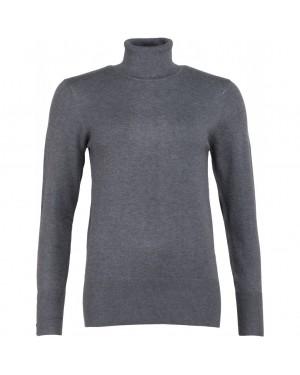 Knit Pullover | Grey Melange |